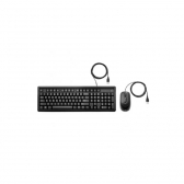 Kit Teclado E Mouse Usb 160 Preto Hp