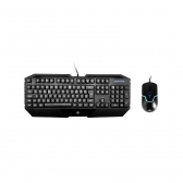Kit Teclado E Mouse Usb Gamer Gk1000 Preto Hp Gamer